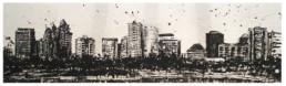Judith Marin Kuala Lumpur peinture acrylique sur papier Malaisie Kuala Lumpur