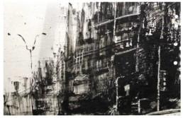 Judith Marin Pluie peinture acrylique sur papier de New York