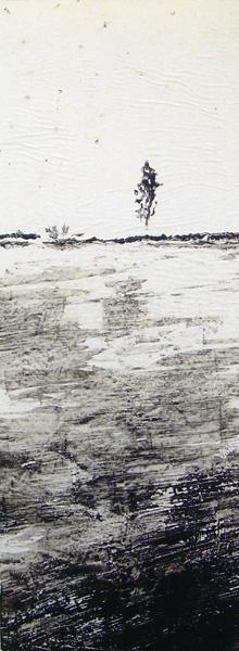 Judith Marin L'Arbre peinture acrylique sur papier South Africa