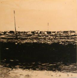 Judith Marin Zastron peinture acrylique sur papier en Afrique du Sud