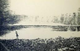 Judith Marin Zoé peinture acrylique sur papier Bretagne