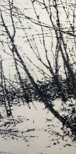 Judith Marin Souches peinture acrylique sur papier