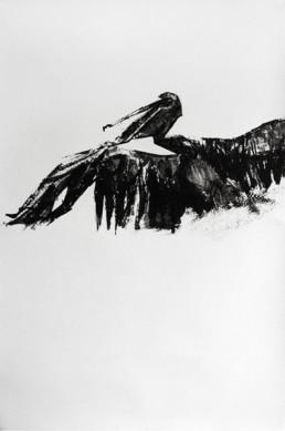 Judith Marin François Réau Le Saint-Esprit étape 1 peinture acrylique et vinylique à quatre mains